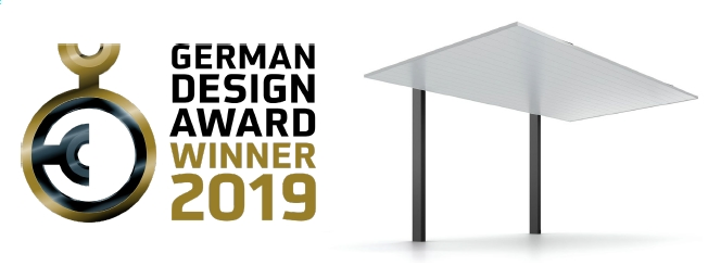 2019年「German Design Award 2019」のWinner賞